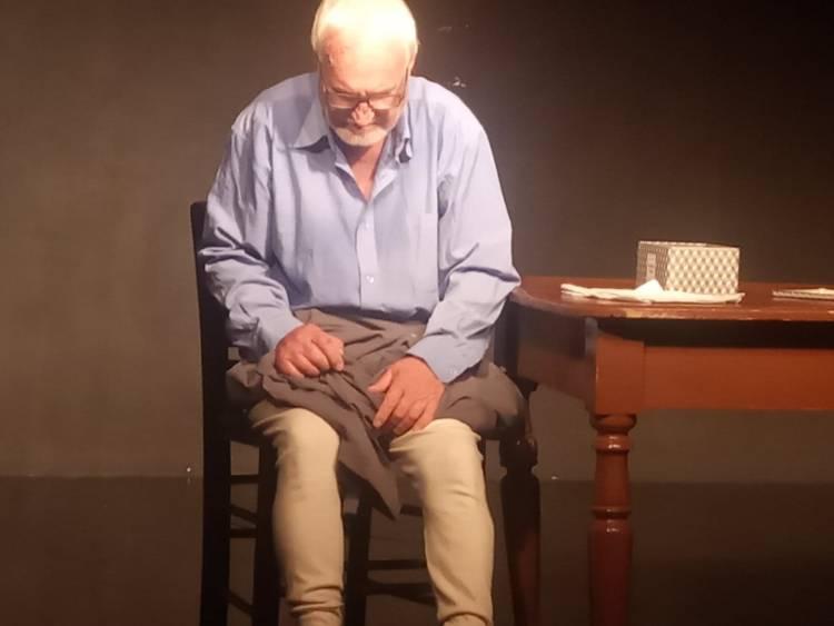 "O K. Λειβαδίτης στη σκηνή του Θεάτρου ""Ανατολικά του Νέστου""   Xanthi 2"